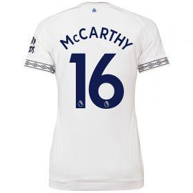 Everton Third Shirt 2018-19 - Womens with McCarthy 16 printing