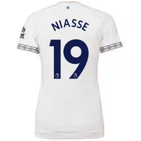 Everton Third Shirt 2018-19 - Womens with Niasse 19 printing