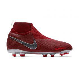 Nike Phantom Vision Elite Dynamic Fit Multi-Ground Football Boots - Red - Kids