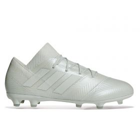 adidas Nemeziz 18.2 Firm Ground Football Boots - Silver