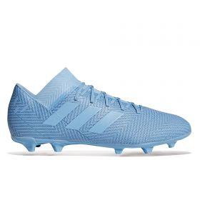 adidas Nemeziz Messi 18.3 Firm Ground Football Boots - Blue