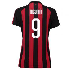 AC Milan Home Shirt 2018-19 - Womens with Higuaín 9 printing