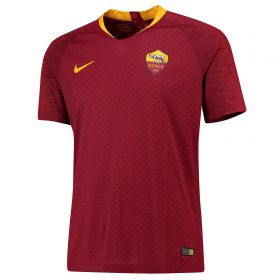 AS Roma Home Vapor Match Shirt 2018-19 with Kluivert 34 printing