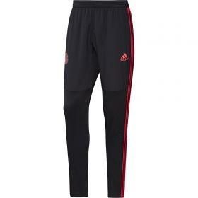 Manchester United Training Warm Pant - Black
