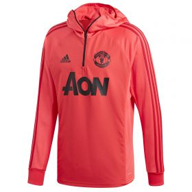 Manchester United Training Warm Top - Pink