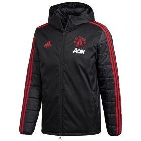 Manchester United Training Winter Jacket - Black