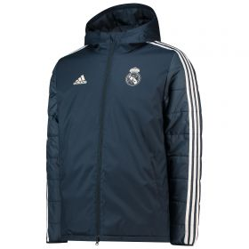 Real Madrid Training Winter Jacket - Dark Grey