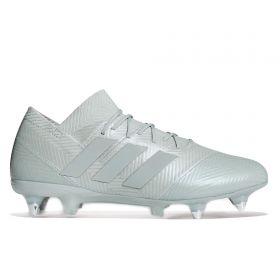 adidas Nemeziz 18.1 Soft Ground Football Boots - Silver