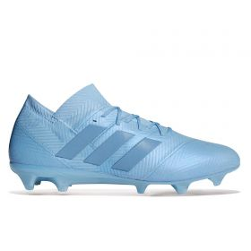 adidas Nemeziz Messi 18.1 Firm Ground Football Boots - Blue