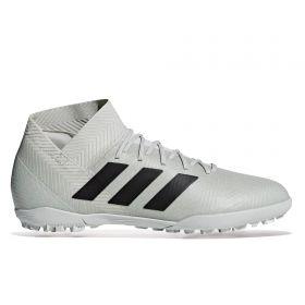 adidas Nemeziz Tango 18.3 Astroturf Trainers - Silver