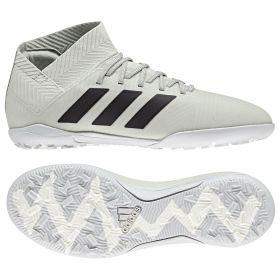 adidas Nemeziz Tango 18.3 Astroturf Trainers - Silver - Kids