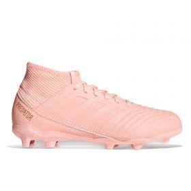 adidas Predator 18.3 Firm Ground Football Boots - Orange - Kids