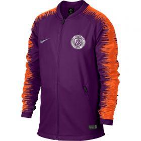 Manchester City Anthem Jacket - Purple - Kids