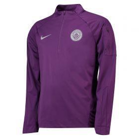 Manchester City Shield Squad Drill Top - Purple