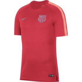 Barcelona Squad Training Top - Pink