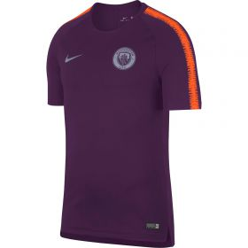 Manchester City Squad Training Top - Purple