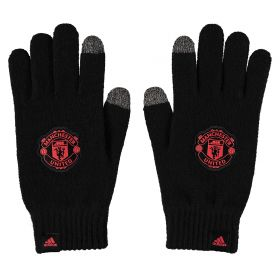 Manchester United Gloves - Black
