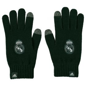 Real Madrid Gloves - Dark Grey