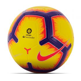 Nike La Liga Merlin Official Match Football - Yellow - Size 5