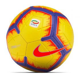 Nike Serie A Strike Football - Yellow - Size 5