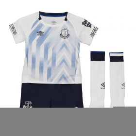 Everton Third Infant Kit 2018-19 with McCarthy 16 printing