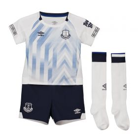 Everton Third Infant Kit 2018-19 with Baines 3 printing