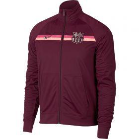 Barcelona Core Trainer Jacket - Maroon