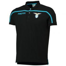 Lazio Cotton Polo - Black