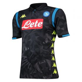 SSC Napoli Away Authentic Shirt 2018-19