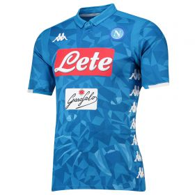 SSC Napoli Home Authentic Shirt 2018-19