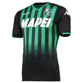 US Sassuolo Home Authentic Shirt 2018-19