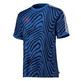 adidas Tango Anthem Training Jersey - Blue