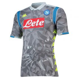 SSC Napoli Third Authentic Shirt 2018-19