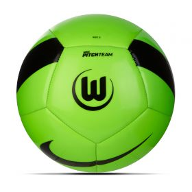 VfL Wolfsburg Pitch Football - Green - Size 5
