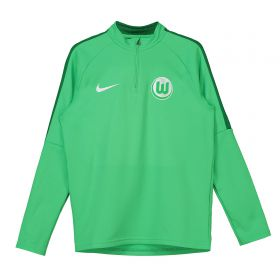 VfL Wolfsburg Training Drill Top - Green - Kids