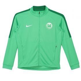 VfL Wolfsburg Training Presentation Jacket - Green - Kids