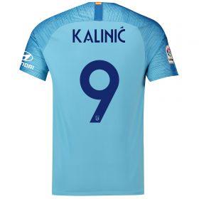 Atlético de Madrid Away Cup Stadium Shirt 2018-19 with Kalinic 9 printing