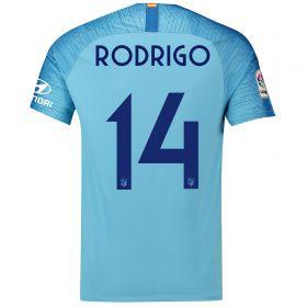 Atlético de Madrid Away Cup Stadium Shirt 2018-19 with Rodrigo 14 printing