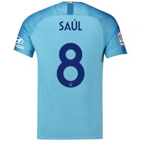 Atlético de Madrid Away Cup Stadium Shirt 2018-19 with Saúl 8 printing