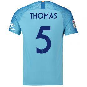 Atlético de Madrid Away Cup Stadium Shirt 2018-19 with Thomas 5 printing