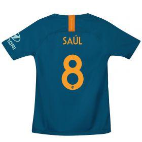 Atlético de Madrid Cup Third La Liga Stadium Shirt 2018-19 - Kids with Saúl 8 printing