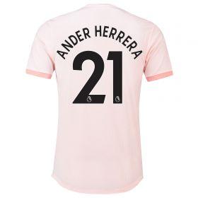 Manchester United Away Adi Zero Shirt 2018-19 with Ander Herrera 21 printing