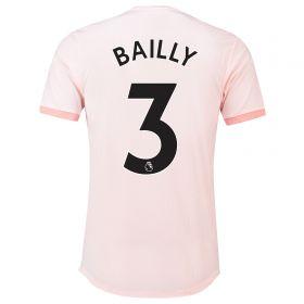 Manchester United Away Adi Zero Shirt 2018-19 with Bailly 3 printing