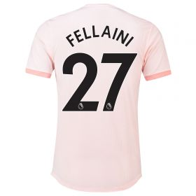 Manchester United Away Adi Zero Shirt 2018-19 with Fellaini 27 printing
