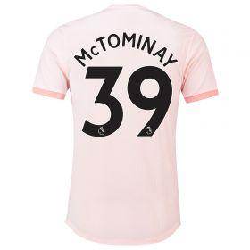 Manchester United Away Adi Zero Shirt 2018-19 with McTominay 39 printing