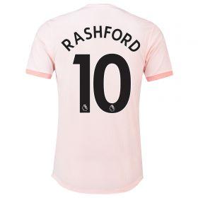 Manchester United Away Adi Zero Shirt 2018-19 with Rashford 10 printing