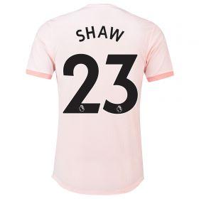 Manchester United Away Adi Zero Shirt 2018-19 with Shaw 23 printing