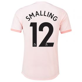Manchester United Away Adi Zero Shirt 2018-19 with Smalling 12 printing
