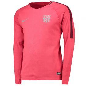 Barcelona Pre-Match Top - Long Sleeve - Pink