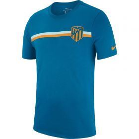 Atlético de Madrid Crest T-Shirt - Green